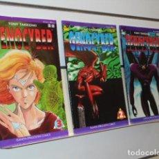 Cómics: GENOCYBER TONY TAKEZAKI VIZ COMICS COMPLETA 3 NUMEROS - PLANETA MANGA OCASION. Lote 262953685