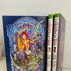 Comics: ¡¡LIQUIDACION!! - 3 TOMOS - BLUE DRAGON , RAL GRAD (1,3,4) - GLENAT - GCH. Lote 264307268