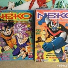 """Cómics: 13 COMIC - """" NEKO - TU REVISTA SOBRE MANGA """" ( NÚMEROS DEL 1 AL 13 )(REF,31). Lote 265449924"""