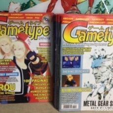 """Cómics: 9 REVISTAS """" GAMETYPE"""" - Nº -5-6-8–9-10-13-14-15 Y 17 (REF,37). Lote 265471914"""