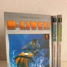Comics : ¡¡ LIQUIDACION!! - PEDIDO MINIMO 5 EUROS - 3 TOMOS D-LIVE!! - DEL 1 AL 3 - PLANETA - GCH. Lote 267198769