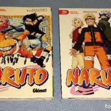 Cómics: 2 TOMOS DE NARUTO Nº 2 Y Nº 28 DE MASASHI KISHIMOTO GLENAT. Lote 268752554