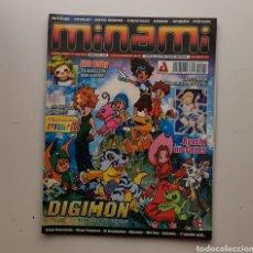 Comics: REVISTA MINAMI / AÑO VII - Nº 57 / DIGIMON DE VUELTA A LOS ORIGENES / SIN CD. Lote 268956059