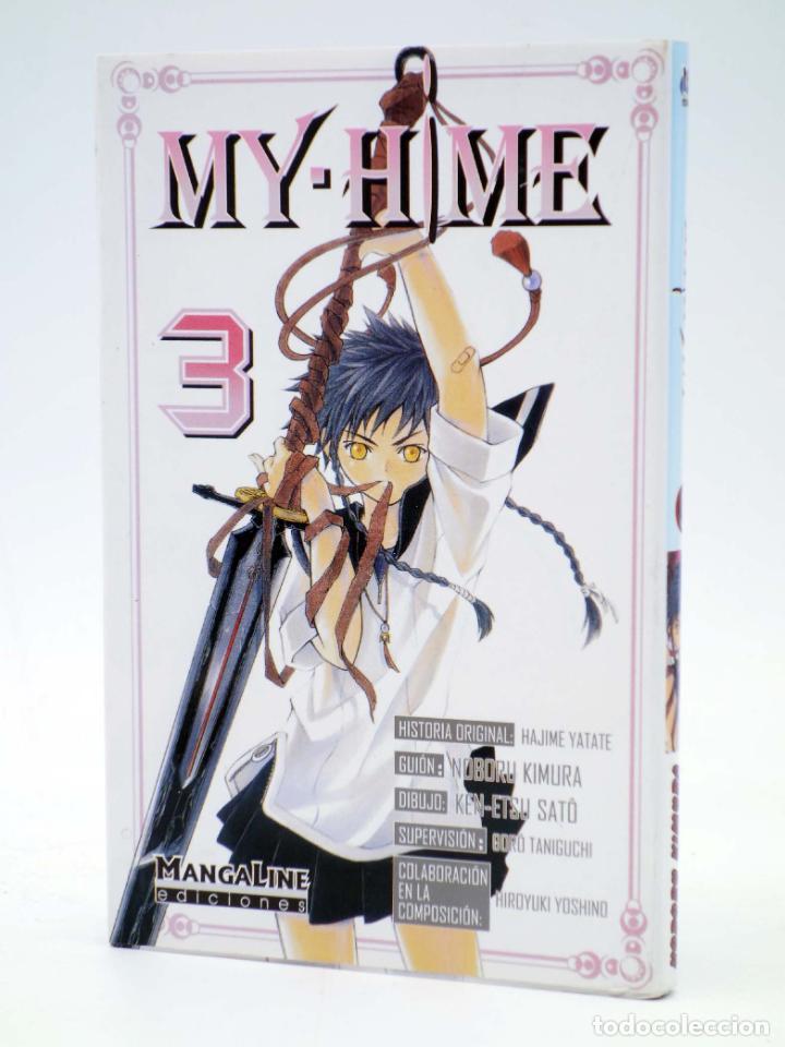MY HIME 3 (YATATE / KIMURA / SATÔ) MANGALINE, 2005. OFRT ANTES 6,5E (Tebeos y Comics - Manga)