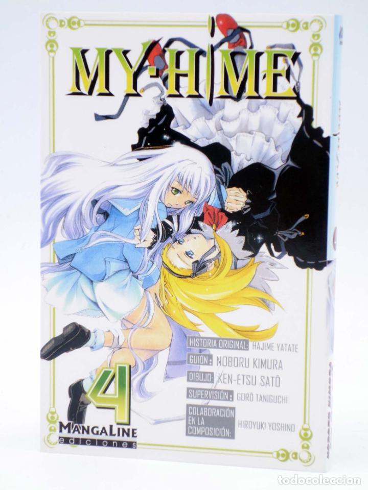 MY HIME 4 (YATATE / KIMURA / SATÔ) MANGALINE, 2006. OFRT ANTES 6,5E (Tebeos y Comics - Manga)