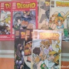 Cómics: DESAFIO + DESAFIO II 2 + DESAFIO SCHOOL FIGHTER + BOUM! COMPLETAS - COMIC MANGA OLIVARES ROKE. Lote 270603138