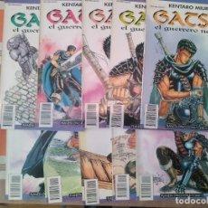 Cómics: GATSU EL GUERRERO NEGRO COMPLETA - COMIC MANGA. Lote 270607918