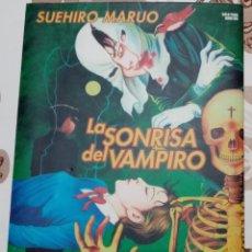 Cómics: LA SONRISA DEL VAMPIRO: SUEHIRO MARUO: GLENAT. Lote 271907963