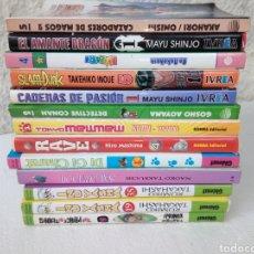 Cómics: LOTE - MANGA - 13 COMICS. Lote 272266748