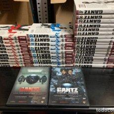 Cómics: GANTZ, DE HIROKU OYA. COMPLETA: 37 VOLUMENES + 2 DVDS. Lote 273489133