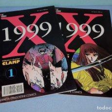 Cómics: X 1999 Nº 1 Y 3 DIBUJO Y GUION CLAMP DE PLANETA AGOSTINI MANGA EN EXCELENTE ESTADO. Lote 274924478