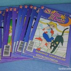 Comics: SAILOR MOON Nº 1-2-3-4-5-6-7-8-9 DE NAOKO TAKEUCHI DE PLANETA AGOSTINI MANGA EN EXCELENTE ESTADO. Lote 274929288