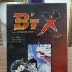 Cómics: BTX Nº 7 - MASAMI KURUMADA - OTAKULAND. Lote 275612363