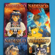 Cómics: MANGA NADESICO - KIA ASAMIYA - NORMA EDITORIAL - COMPLETA. Lote 277140078