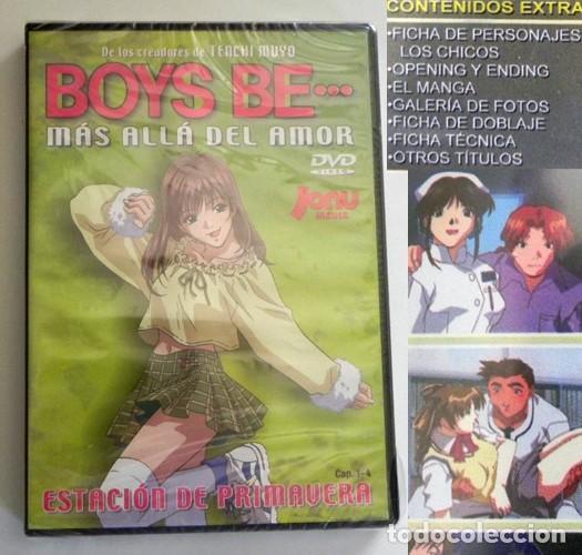 DVD PRECINT- BOYS BE MÁS ALLÁ DEL AMOR - ANIME DIBUJOS ANIMADOS SERIE CAP 1-4 JAPÓN EXTRAS -NO CÓMIC (Tebeos y Comics - Manga)
