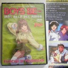 Cómics: DVD PRECINT- BOYS BE MÁS ALLÁ DEL AMOR - ANIME DIBUJOS ANIMADOS SERIE CAP 1-4 JAPÓN EXTRAS -NO CÓMIC. Lote 277622378