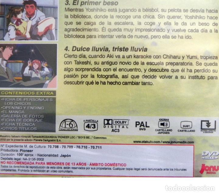 Cómics: DVD PRECINT- BOYS BE MÁS ALLÁ DEL AMOR - ANIME DIBUJOS ANIMADOS SERIE CAP 1-4 JAPÓN EXTRAS -NO CÓMIC - Foto 3 - 277622378