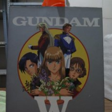 Cómics: ART BOOK - GUNDAM WING CHARACTERS COLLECTION - RAPPORT DELUXE. Lote 278543058