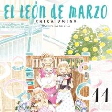 Comics: EL LEON DE MARZO TOMOS 11 AL 14. ECC COMICS. CHICA UMINO. MANGA. Lote 280936398