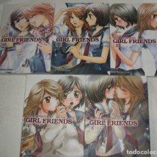 Cómics: COMIC MANGA GIRL FRIENDS COMPLETO (5 TOMOS) DE MILK MORINAGA - PLANETA CÓMIC. Lote 282207773