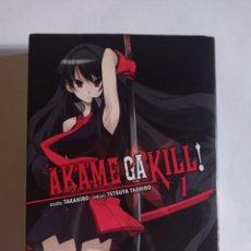 Comics : OFERTA MANGA AKAME GA KILL * VOLUMEN 1 * (240 PÁGINAS) EN PERFECTO ESTADO. Lote 284476433