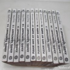 Cómics: KAORI YUKI ANGEL SANCTUARY ( 12 TOMOS EN FRANCÉS ( DEL 6 AL 18 FALTA EL 13 )) W8808. Lote 284565918