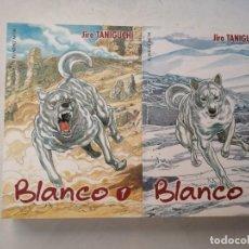 Cómics: COMIC MANGA. BLANCO DE JIRO TANIGUCHI . COLECCIÓN COMPLETA 2 TOMOS.. Lote 287436198