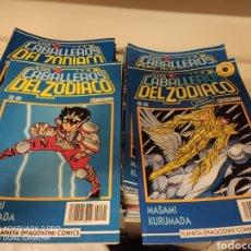 Cómics: COLECCIÓN CABALLEROS DEL ZODIACO PLANETA COMPLETA,83 NÚMEROS,!!! EXCELENTE ESTADO!!!. Lote 287651983