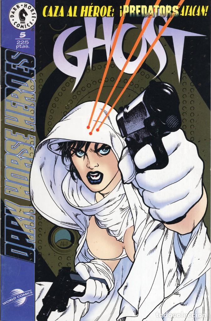 GHOST Nº 5 - PLANETA - SUB03Q (Tebeos y Comics - Manga)