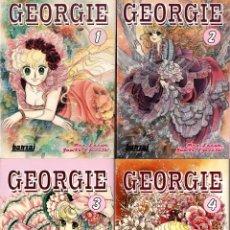 Cómics: GEORGIE (BANZAI, 2006-2008) DE MAN IZAWA Y YUMIKO IGARASHI. COMPLETA. 1 AL 4.. Lote 288168943