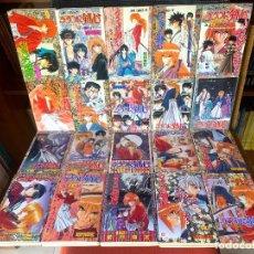 Cómics: RUROUNI KENSHIN - VOLUMES 1-28 - JUEGO COMPLETO MANGA JAPONÉS. Lote 288202353