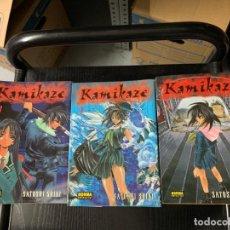 Cómics: KAMIKAZE 1, 2 Y 3 (DE 7), DE SATOSHI SHIKI. Lote 291928093