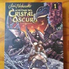 Cómics: LEYENDAS DEL CRISTAL OSCURO: LAS GUERRAS GARTHIM TOMO 1 - NORMA EDITORIAL - MANGA.. Lote 292615168