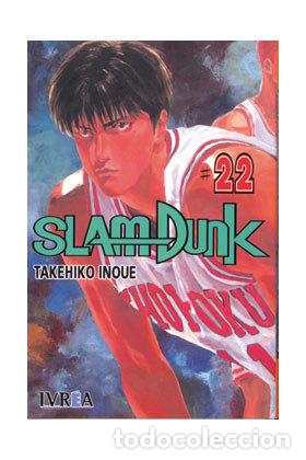 SLAM DUNK TOMO 22 (SEMINUEVO) (Tebeos y Comics - Manga)