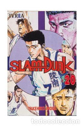 SLAM DUNK TOMO 20 (SEMINUEVO) (Tebeos y Comics - Manga)