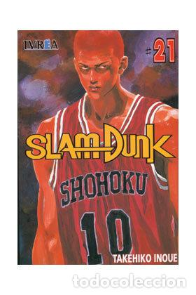 SLAM DUNK TOMO 21 (SEMINUEVO) (Tebeos y Comics - Manga)