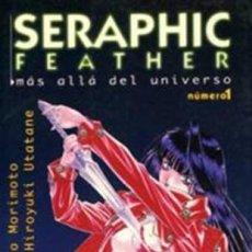 Cómics: SERAPHIC FEATHER. MAS ALLA DEL UNIVERSO. TOMOS 1 Y 2. NORMA. MANGA. Lote 293882038