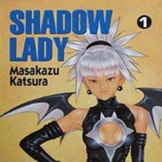 Cómics: SHADOW LADY. SERIE COMPLETA: 3 TOMOS. NORMA. MANGA.. Lote 293882408