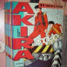 Cómics: AKIRA - ED. GLENAT - MANGA - LOTE 17 UNIDADES.. Lote 294108733