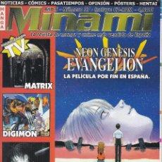Cómics: REVISTA MINAMI, Nº 37 MANGA Y OCIO. NEON GENESIS EVANGELION. SIN CD. Lote 295479968