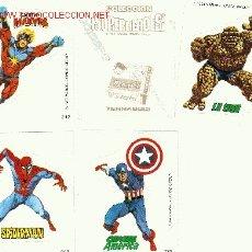 Cómics: 30 CROMOS SUPERHEROES 1980 DE MARVEL COMICS GROUP. Lote 194658728
