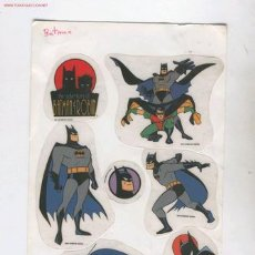 Cómics: (ALB-TC-35) PEGATINAS BATMAN DC COMICS. Lote 14849982