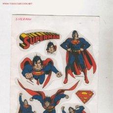 Cómics: (ALB-TC-35) PEGATINAS SUPERMAN DC COMICS. Lote 904123