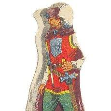 Cómics: PERSONAJES DE EL GUERRERO DEL ANTIFAZ - EL CONDE DE TORRES - EDITORIAL VALENCIANA. Lote 10795045