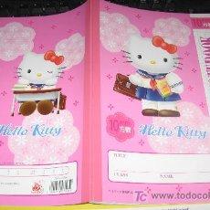 Comics : HELLO KITTY NOTE BOOK RECORTITOS . Lote 6845122
