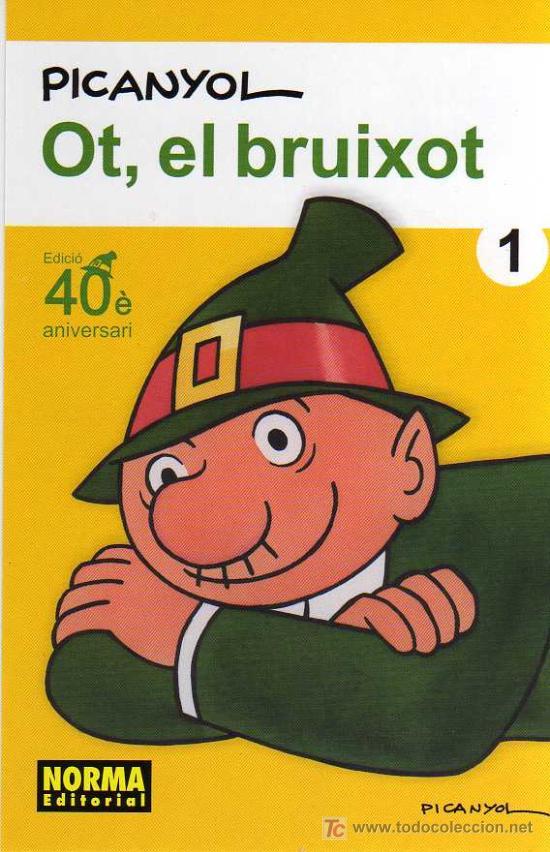 POSTAL PUBLICITARIA - OT, EL BRUIXOT - PICANYOL- NORMA EDITORIAL (Tebeos y Comics - Comics Merchandising)