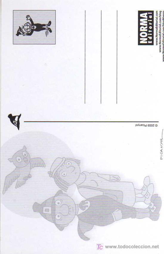 Cómics: POSTAL PUBLICITARIA - OT, EL BRUIXOT - PICANYOL- NORMA EDITORIAL - Foto 2 - 27625824