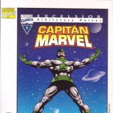 Cómics: POSTAL DE CAPITAN MARVEL. MARVEL COMICS.. Lote 15509935