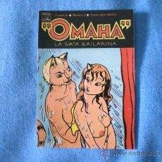 Cómics: CALENDARIO 1991 OMAHA LA GATA BAILARINA VIBORA COMIX. Lote 15859172