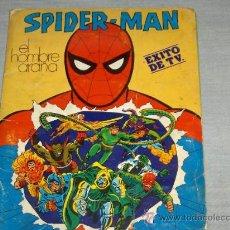 Cómics: SPIDERMAN EL HOMBRE ARAÑA. ALBUM COMPLETO 170 CROMOS. FHER 1981. MUY DIFÍCIL!!!!!!!!. Lote 21336077